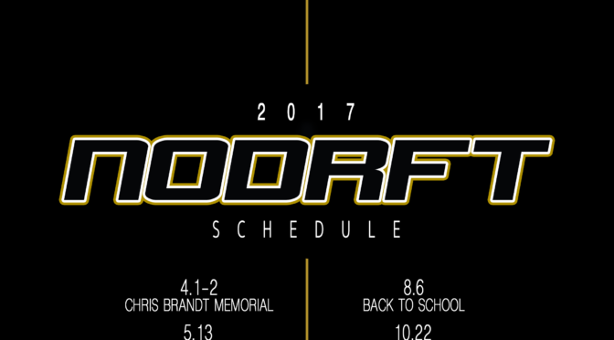 ND 2017 Drift Schedule