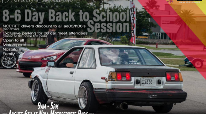 8.6.17 – NODRFT Back to School Session/86 Nostalgia Meet