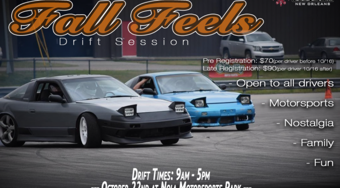 10.22.17 – NODRFT – Fall Feels Drift Session