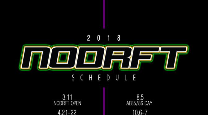 2018 NODRFT Schedule
